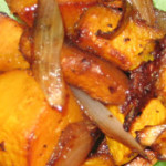 Roasted Butternut Squash with Shallots
