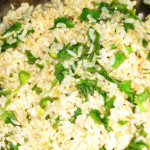 Brown Rice with Lime, Cilantro, and Jalapeno