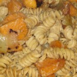 Filling Up on Favorites – Rotini with Butternut Squash in A Gorgonzola Cream Sauce