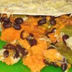 Sweet Potato and Black Bean Enchilada Casserole