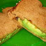 Avocado and Barbecue Sauce Sandwiches