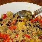 Mango, Black Bean, and Quinoa Salad