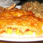 TFF – Tyler's Chicken Enchiladas and Spanish Rice