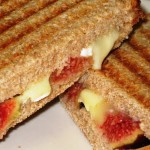 Grilled Fig and Brie Sandwiches