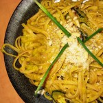 Pumpkin and Pine Nut Linguine