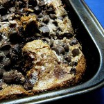 Cinnamon Chocolate Chip Sour Cream Cake