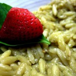 Strawberry Balsamic Pesto Orzotto – Feasting On Art Recipe Contest