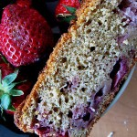 Strawberry Yogurt Bread…and Vote For Me!