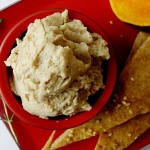 Bittman's White Bean Dip on Turkish-Style Pita Bread