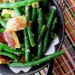 Crispy Gnocchi with Green Beans and Peas – Symon Sundays