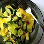 Ravioli with Brown Butter, Almonds, and Zucchini – Symon Sundays