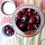 Five Spice Chicken with Pickled Cherries