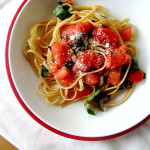 Linguine with Raw Tomato Sauce
