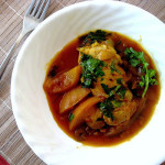 Moroccan Nectarine and Plum Chicken Tagine…And A Giveaway!