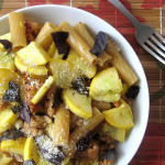 Italian Sausage and Summer Squash Pasta