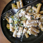 Mario Batali's Pennette with Summer Squash and Ricotta