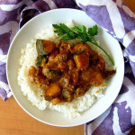 Bittman's Spicy Pork with Cinnamon, Winter Squash, and Raisins