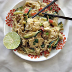 Asian Noodle Salad with Cashew Dressing (Vegan)