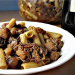 Italian Braised Beef with Root Vegetables and Yia Yia's Sunday Sauce