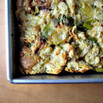 Thomas Keller's Savory Leek Bread Pudding – HEALTHIFIED!