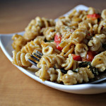 Macaroni and Goat Cheese with Roasted Red Peppers…Eat.Live.Be. for a Better 2011
