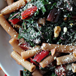 Pasta with Ruby Chard and Cranberries…Eat.Live.Be. for a Better 2011!