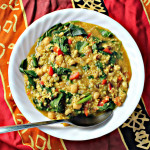 African Curried Coconut Soup with Chickpeas {VEGAN}…Eat.Live.Be. for a Better 2011!