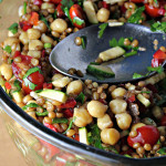 Back on Track Wheat Berries and Chickpea Salad…Eat.Live.Be. for a Better 2011!