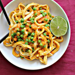 Homemade Ginger Pasta with Sweet Potato-Wasabi Sauce