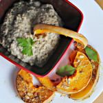 Pomegranate-Glazed Eggplant with Tempeh, Butternut Squash, and Ricotta ...