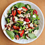 Goat Cheese, Strawberry, and Basil Salad