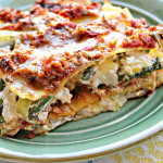 Asparagus and Sun-Dried Tomato Pesto Lasagna