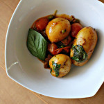 Coconut Potato Curry with Basil and Cashews…Eat.Live.Be.