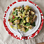 Spring Pesto Panzanella…Eat.Live.Be