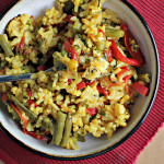 Fannie Farmer's Vegetable Paella