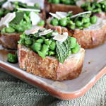 Pesto Cheesecake, Pea Mint & Parmesan Crostini, Blueberry Mozzarella Crostini…and a GIVEAWAY!