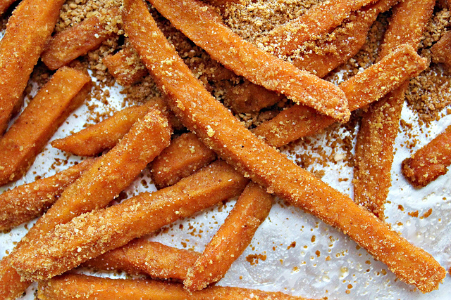 sweet potato pie fries