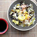 Judith Jones's Vegetable Sushi Rice Salad and a Hershey's Hot Air Balloon Ride