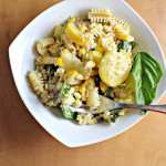 Pasta with Fresh Corn Pesto