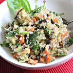 Summer Vegetable Stir Fry with Quinoa and an Opportunity From Buitoni!