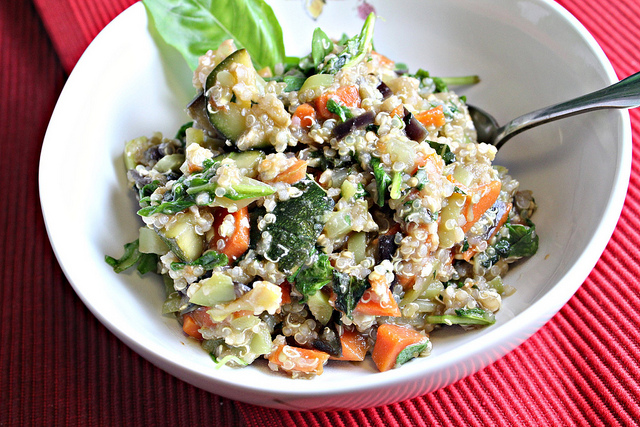 Summer Vegetable Stir Fry with Quinoa and an Opportunity From Buitoni ...