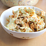 Tupelo Honey Coleslaw with Sweet Potatoes and Sunflower Seeds