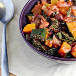 Cranberry Bean Chili with Winter Squash and Swiss Chard
