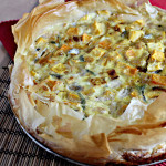 "Roasted Pumpkin Quiche with Caramelized Onions, Gorgonzola, and Sage…and My Eggland's Best ""Pink Party""! (GIVEAWAY)"