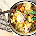 Curried Root Vegetable Stew with Dumplings…and a GIVEAWAY!