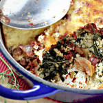 Bulgur and Kale Casserole with Yogurt Topping…Eat.Live.Be.