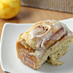 meyer lemon rosemary sticky buns