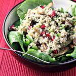 Quinoa, Fennel and Pomegranate Salad