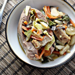 Bok Choy and Baked Tofu Stir Fry in Citrus-Ginger Sauce…Eat.Live.Be.