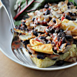 Mango and Black Bean Casserole